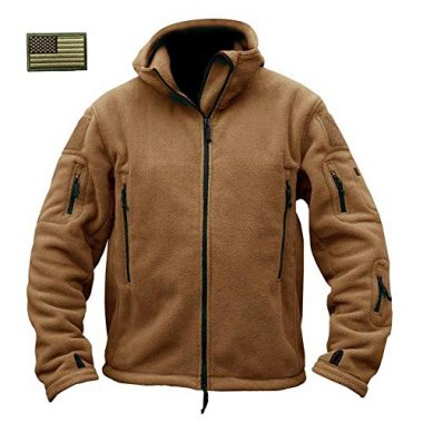 Men's Warm Military Tactical Sport Fleece Hoodie By ReFire Gear