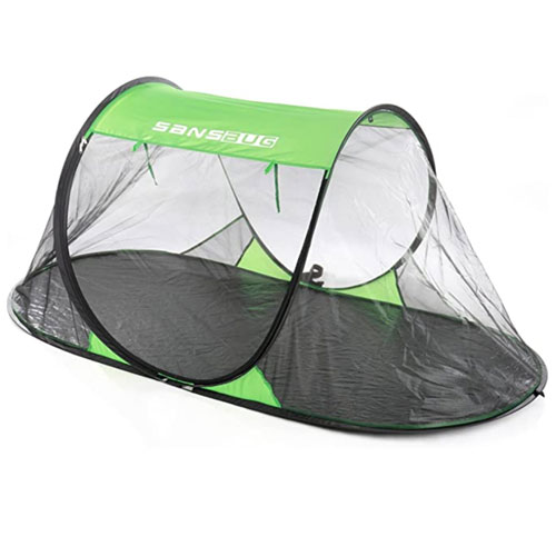 SansBug 1-Person Free-Standing Pop-Up Mosquito Net