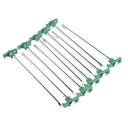 SE Heavy-Duty Metal Tent Stakes