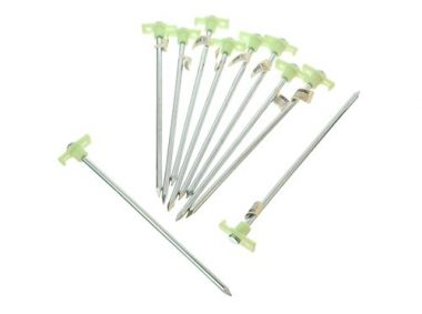 Glow in the Dark Tent Pegs by SE