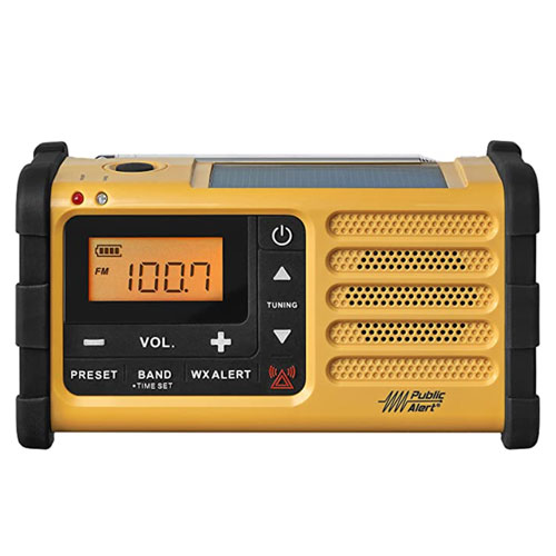 Sangean MMR-88 AM/FM/Weather Alerts Emergency Radio