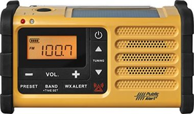 Sangean MMR-88 AM/FM/Weather Alert Emergency Radio