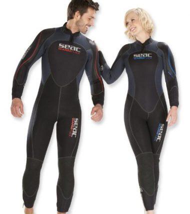 Seac Sub Warm Flex Super Stretch 7mm Wetsuit, Womens – X-Large