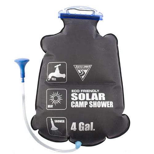 Seattle Sports 5 Gallon Solar Heated Camp Shower