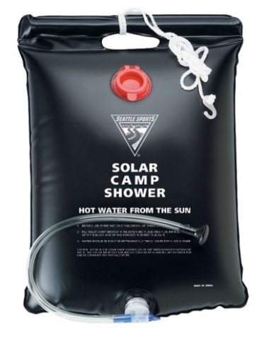 Seattle Sports 5 Gallon Solar Camp Shower Camp Gear