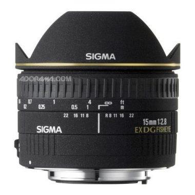 Sigma Fisheye Underwater Lens