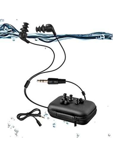 Sigomatech 100% Waterproof Swimming Headphones