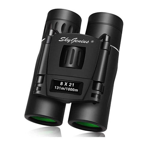 SkyGenius Compact Lightweight Binoculars