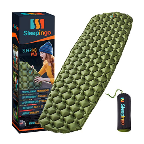 Sleepingo Ultralight Inflatable Camping Sleeping Pad