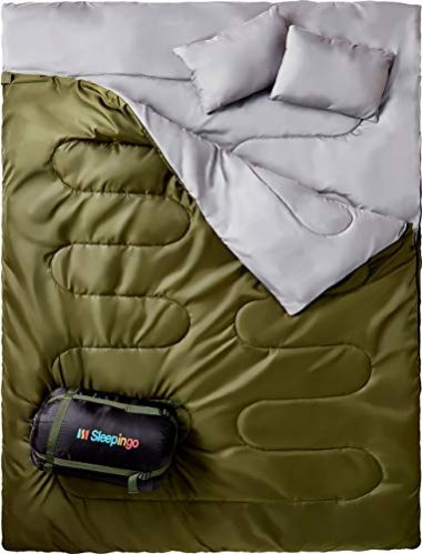 Sleepingo Double Sleeping Bag Queen Size XL