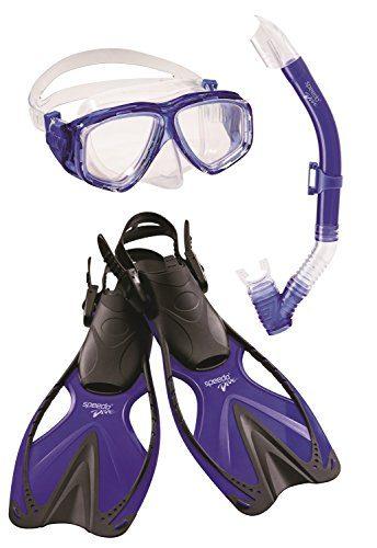 Speedo Jr. Adventure Snorkeling Set