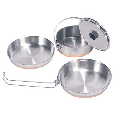 Stansport 360 Stainless Steel Camping Mess Kits
