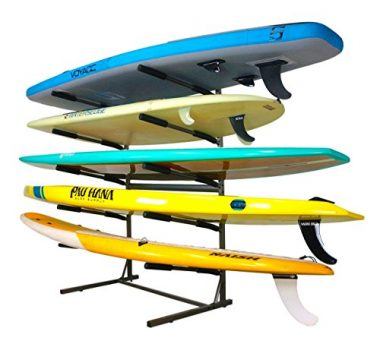 Stoneman Sports Freestanding Paddle Board Wall Rack