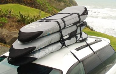 Curve Travel Soft Paddle Board Roof Racks