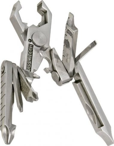 Swiss+Tech Polished SS 19-in-1 Micro Pocket Multi Tool