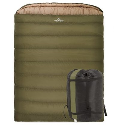 Mammoth Queen Size Double Sleeping Bag by Teton Sports