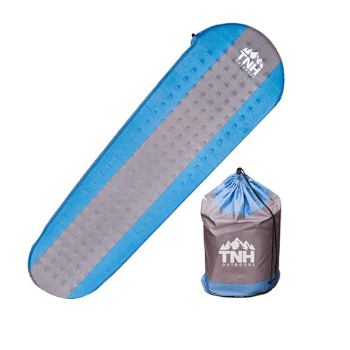 TNH Outdoors Premium Self Inflating Camping Sleeping Pad