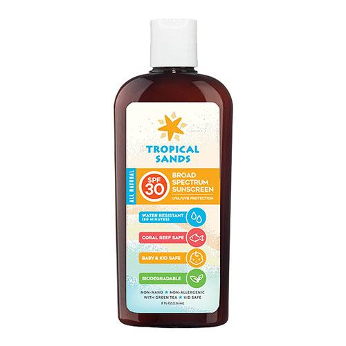 Tropical Sands SPF 30 Natural Snorkel Reef Safe Sunscreen