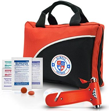 Always Prepared Ultra-Light & Small 126-Piece First Aid Kit