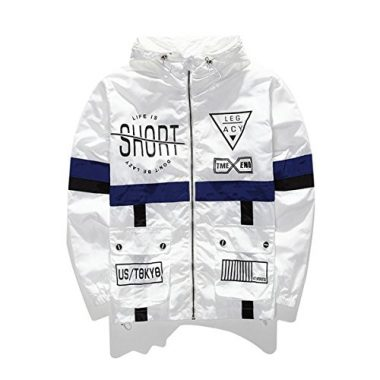 WEIPENG AITFINEISM Men's Windbreaker Jacket