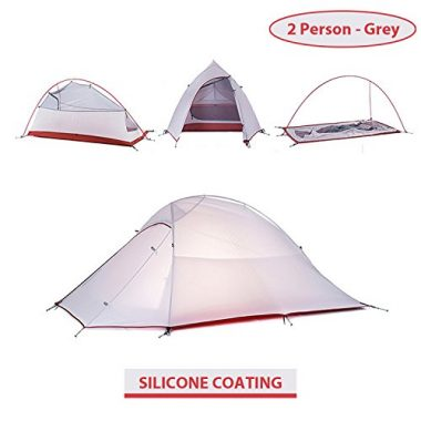 Weanas 3 Seasons Double Layer Backpacking Ultralight Tent