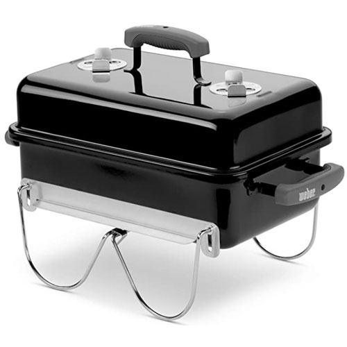 Weber 121020 Go-Anywhere Portable Bbq Charcoal Portable Grill