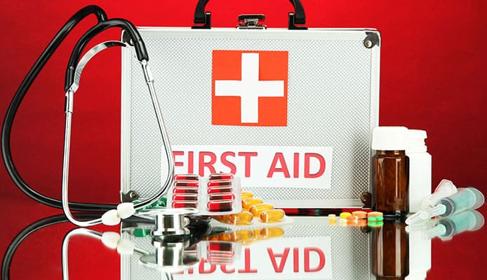 What_A_Normal_First_Aid_Kit_Contains