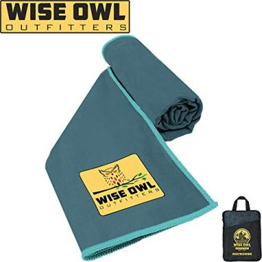 Wise Owl Outfitters Camp Towel
