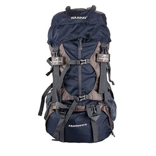 WASING 55L Internal Frame Backpacking Backpack