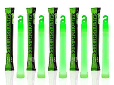 12 Ultra Bright Glow Sticks Survival Gear