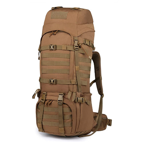 Mardingtop 65+10L Molle Backpacking Backpack