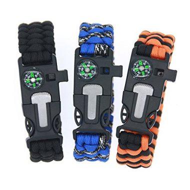 3 Bears BoyScout Outdoor Survival Bracelet