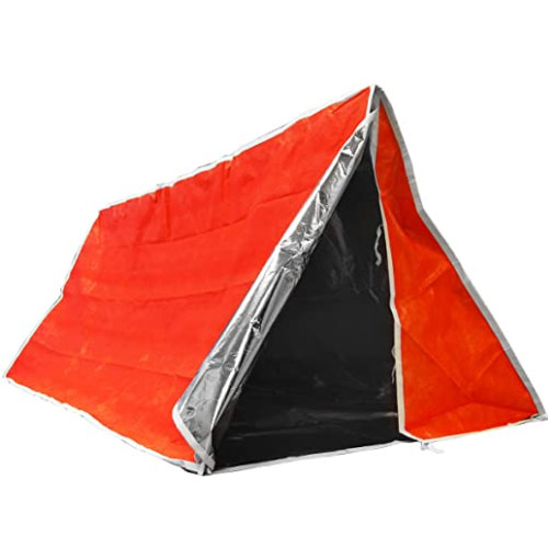 SE ET3683 Emergency Outdoor Tube Survival Shelter