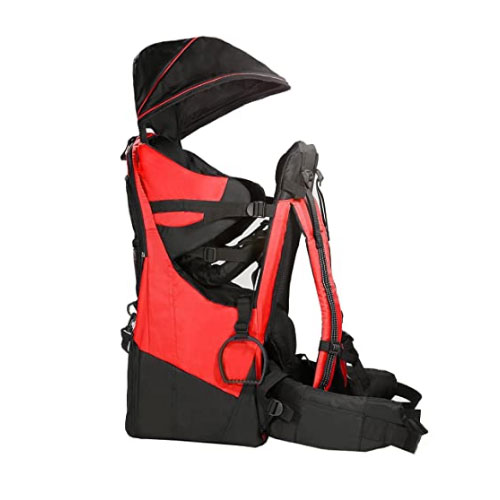 ClevrPlus Deluxe Adjustable Hiking Baby Carrier