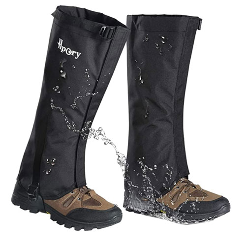 Hpory Breathable Waterproof High Hiking Gaiters