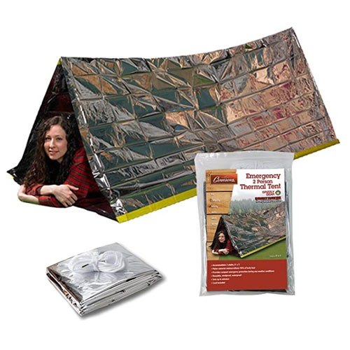 Grizzly Gear Emergency Mylar Thermal Survival Shelter