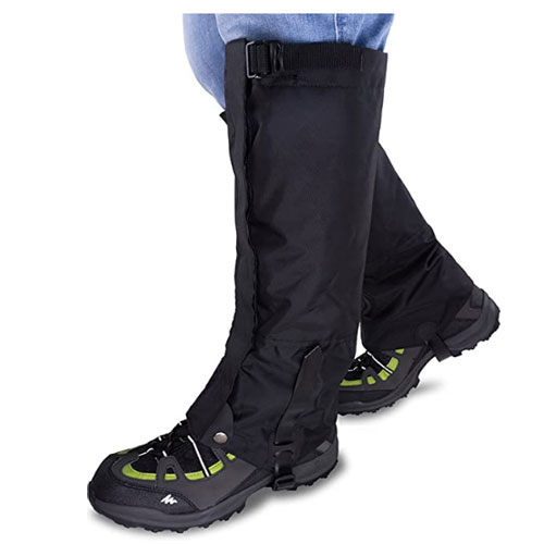 Qshare Waterproof High Leg Hiking Gaiters