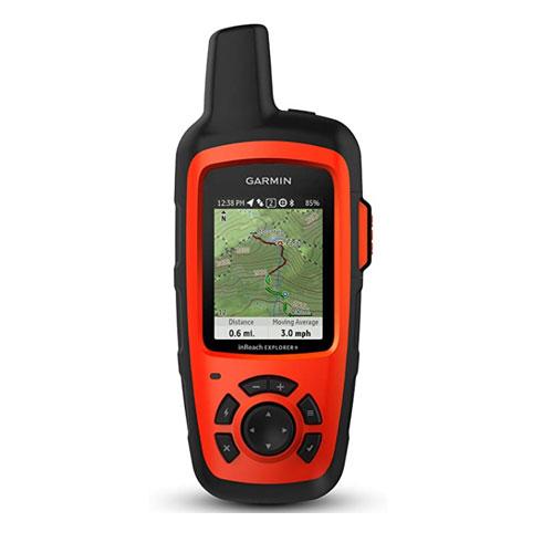 Garmin inReach Explorer+, Handheld Personal Locator Beacon