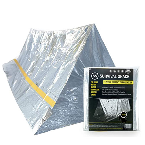 Sharp Emergency Thermal Survival Shelter