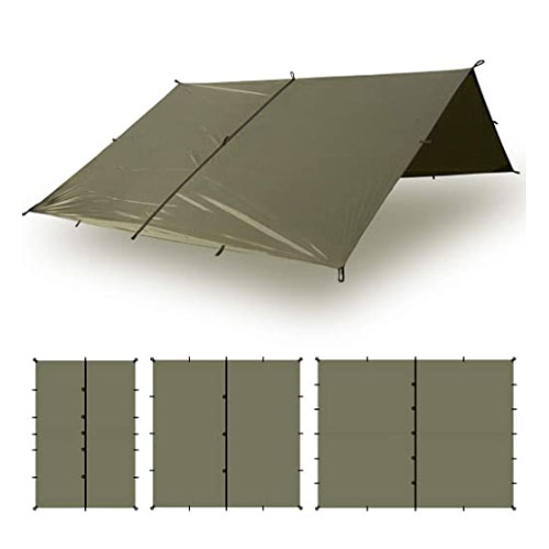 Aqua Quest Defender Tarp Heavy-Duty Bushcraft Survival Shelter