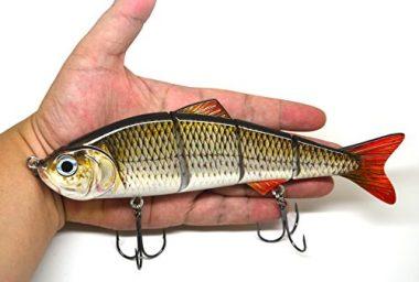 BlitzBite Multi Jointed Swimbait Fishing Muskie Lure