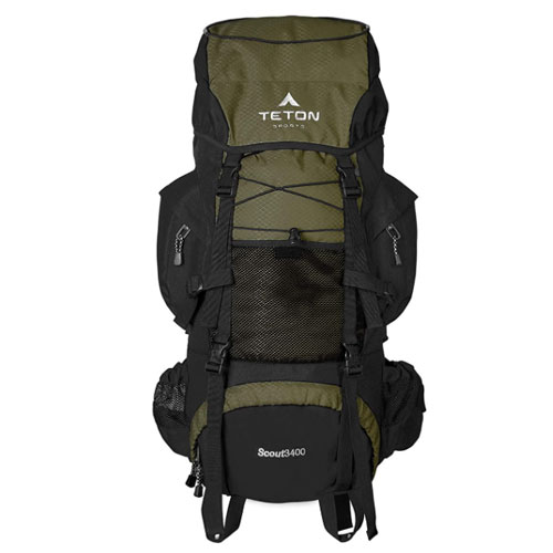 TETON Sports Scout 3400 Backpacking Backpack