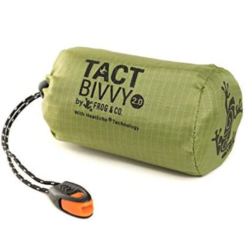 Survival Frog Tact Bivvy 2.0 Ultralight Survival Shelter