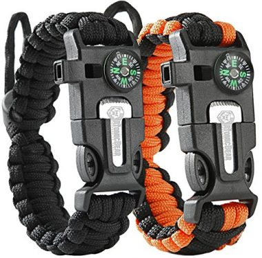 ATOMIC BEAR Paracord Survival Bracelet