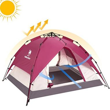 Camel Crown Automatic Outdoor Summer Tent