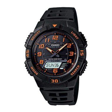 Casio Slim Solar Multi-Function Analog-Digital Solar Watch