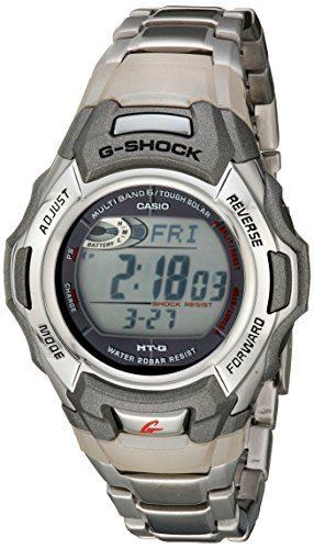 Casio G Shock Stainless Solar Watch