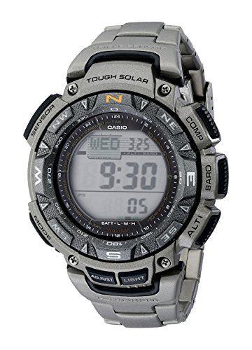 Pro Trek Men's PAG240T-7 Watch Altimeter Watch