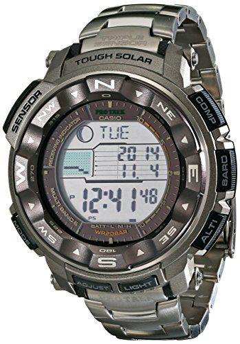 Casio Men's Pro Trek Sport Watch Altimeter Watch