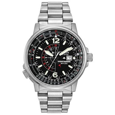 Citizen Eco-Drive Promaster Nighthawk Dual Time Solar Watch